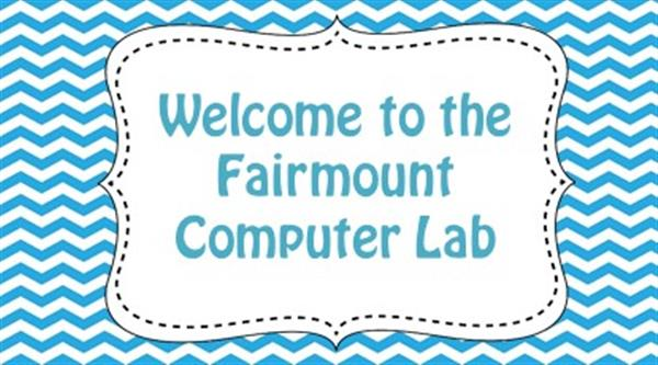 Welcome to the Fairmount Computer Lab
